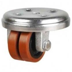50mm Polyurethane On Cast Iron Core Swivel Castors