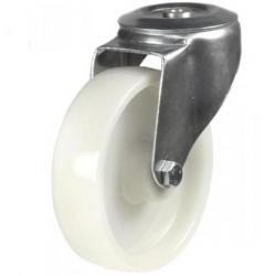 M12 Bolt Hole castors 80mm wheel diameter upto 200kg capacity