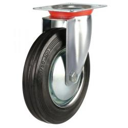 Swivel castors 200mm wheel diameter upto 200 kg capacity