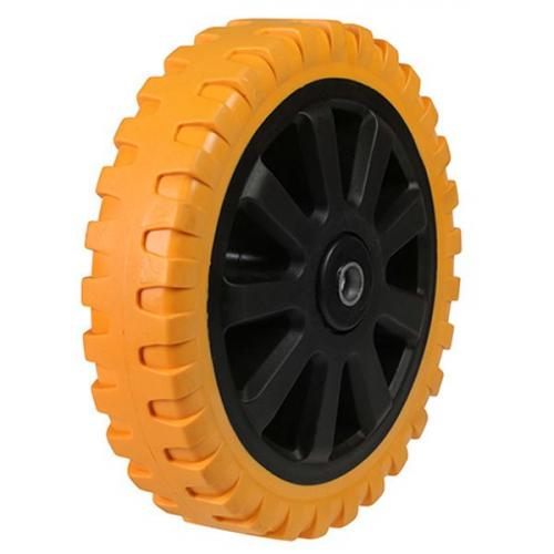 100mm Resilient Poly Nylon Heavy Duty Castor Wheel 200kg Capacity
