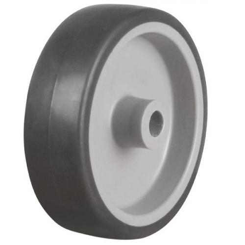 100mm / 90kg Synthetic Rubber Tyre on Plastic Centre Wheel