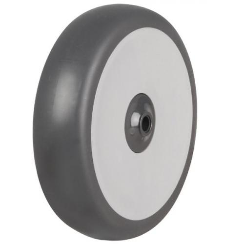 100mm Rubber Tyre On Plastic Centre Wheel