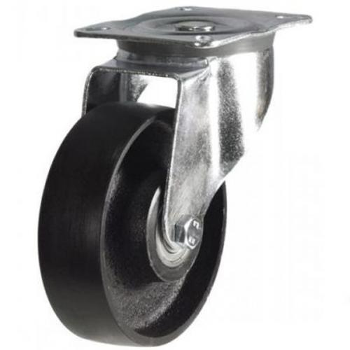 125mm Heavy Duty Cast Iron Swivel castors - 280kg capacity