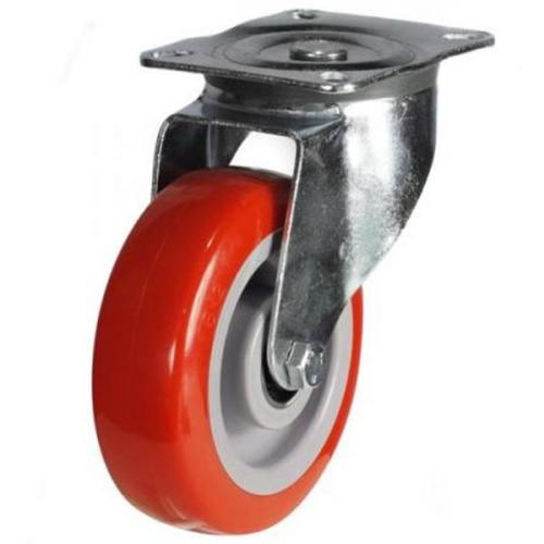 125mm Heavy Duty Poly Nylon Swivel castors - 220kg capacity