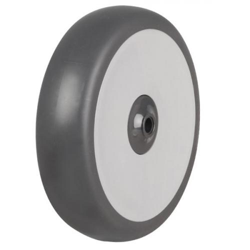 125mm Rubber Tyre On Plastic Centre Wheel