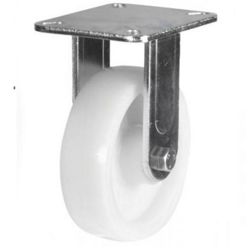 150mm Heavy Duty Nylon Fixed castors - 500kg capacity