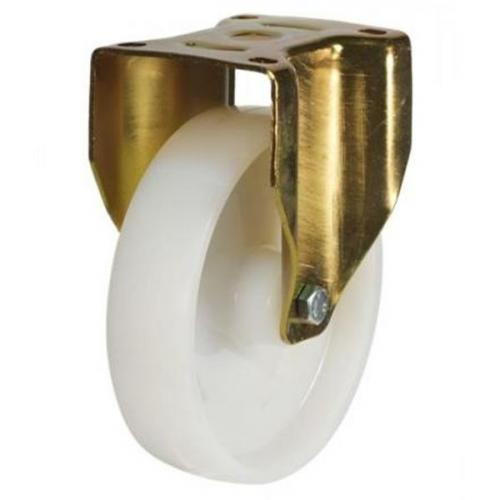 150mm Heavy Duty Nylon Fixed castors - 700kg capacity