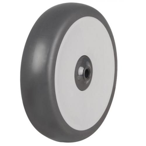 160mm / 140kg Synthetic Rubber Tyre On Plastic Centre Wheel