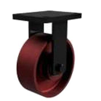 200mm Extra Heavy Duty Ductile Iron Fixed Castors