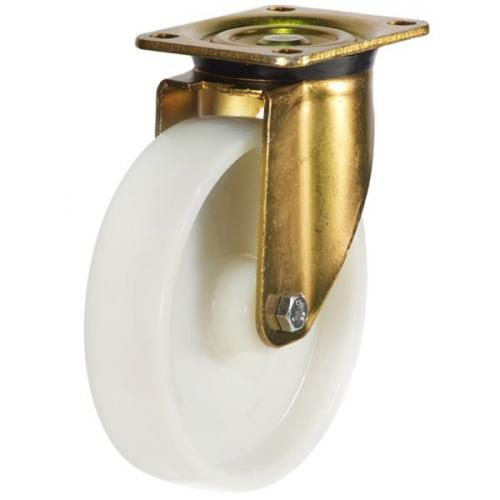 250mm Heavy Duty Nylon Swivel Castors