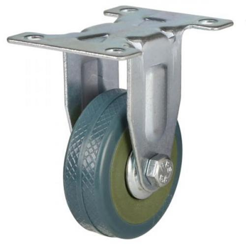 50mm Light Duty Non Marking PVC Fixed Castors