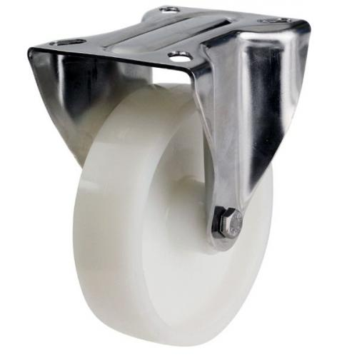 80mm Medium Duty Nylon Castor - 200kg capacity