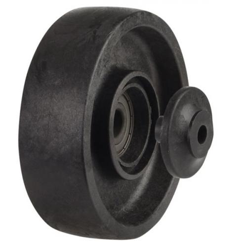 100mm / 180kg / 260°C Polymer Glass Fibre Wheel [45 mm Hub Length]
