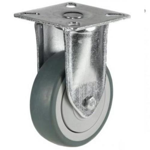 Fixed castors 100mm wheel diameter upto 60kg capacity