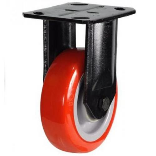 Heavy Duty Fixed castors 125mm wheel diameter upto 340kg capacity