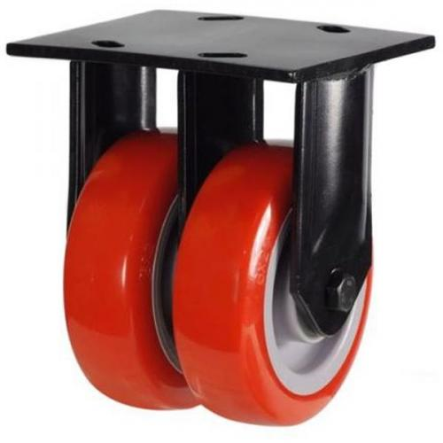 Heavy Duty Fixed castors 200mm wheel diameter upto 860kg capacity