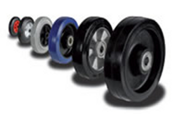 Castors & Wheels Tyre Materials